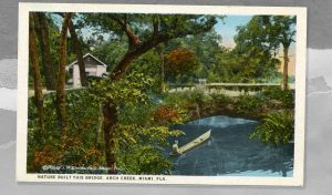 Colorized Postcard of Arch Creek